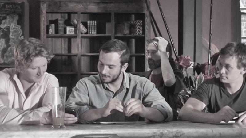 Three people walk in to a bar…