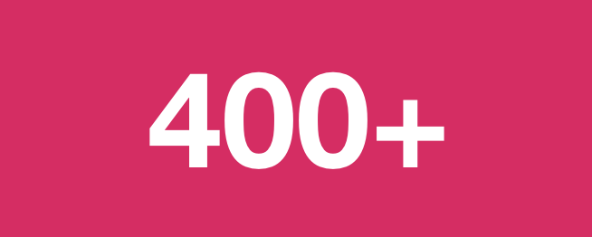 400 hundred blogs. If we can do it…you can do it.