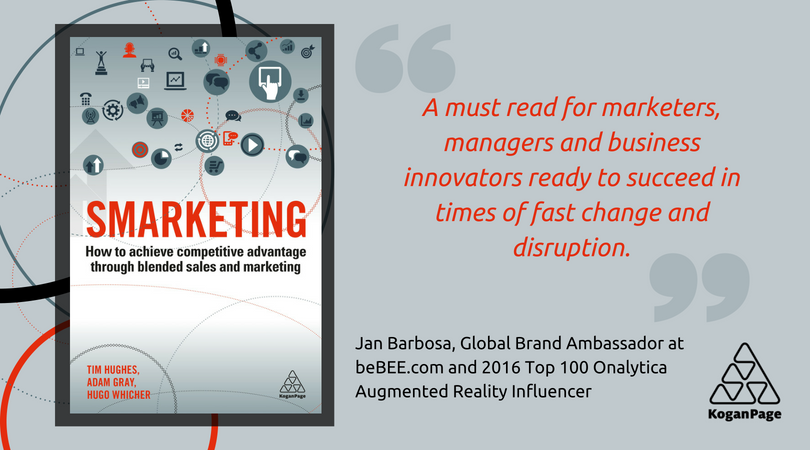 """Why the book """"Smarketing: How to Achieve Competitive Advantage through Blended Sales and Marketing""""?"""