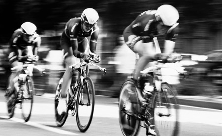 Cycling, team work and programmatic social selling.
